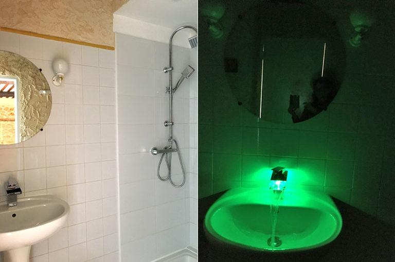 Chambre Banane : salle de bain