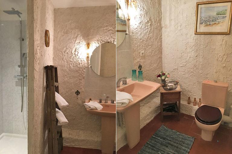 Chambre Isabelle : salle de bain