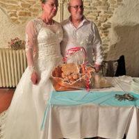 La Mandarine, mariage, gâteau