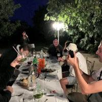 La Mandarine, repas mariage jardin