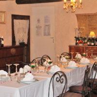 La Mandarine, table repas réception
